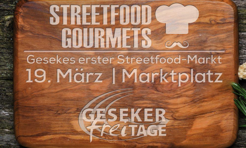 Streetfood Gourmets auf den Geseker freiTAGen